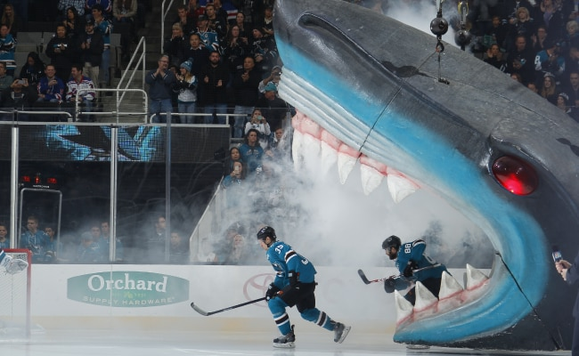 Sharks move from San Jose