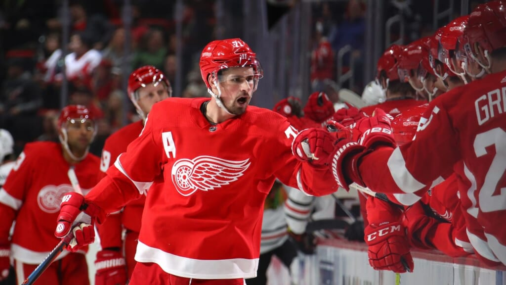Red Wings captain