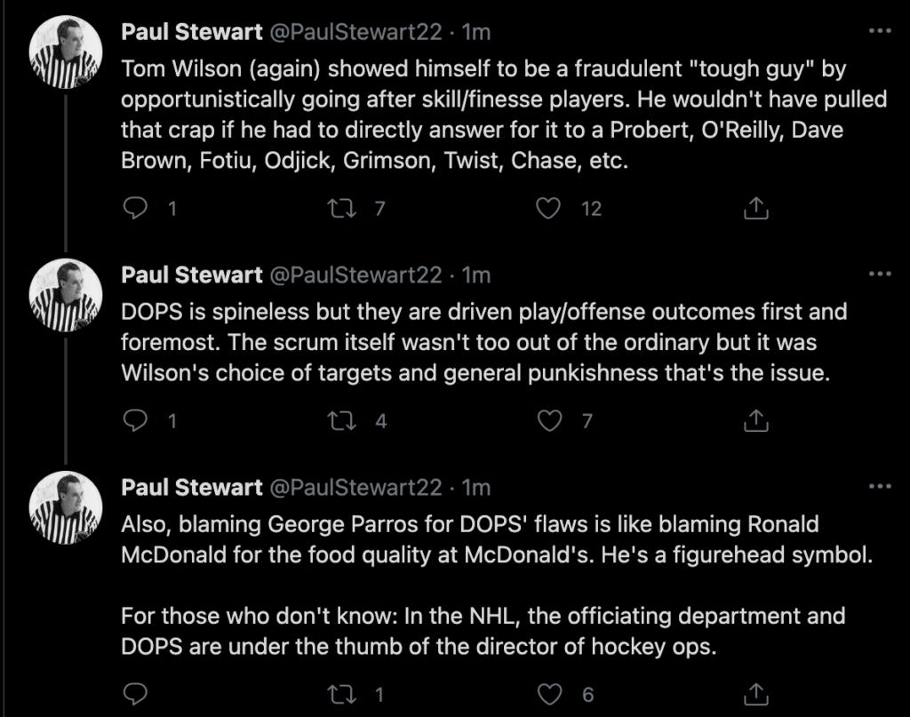 paul stewart tom wilson