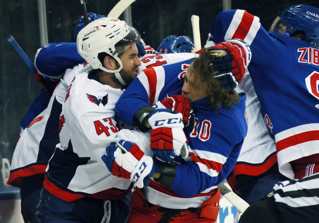 tom wilson takes another shot at rangers