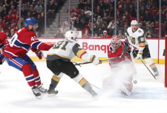 golden knight canadiens playoffs
