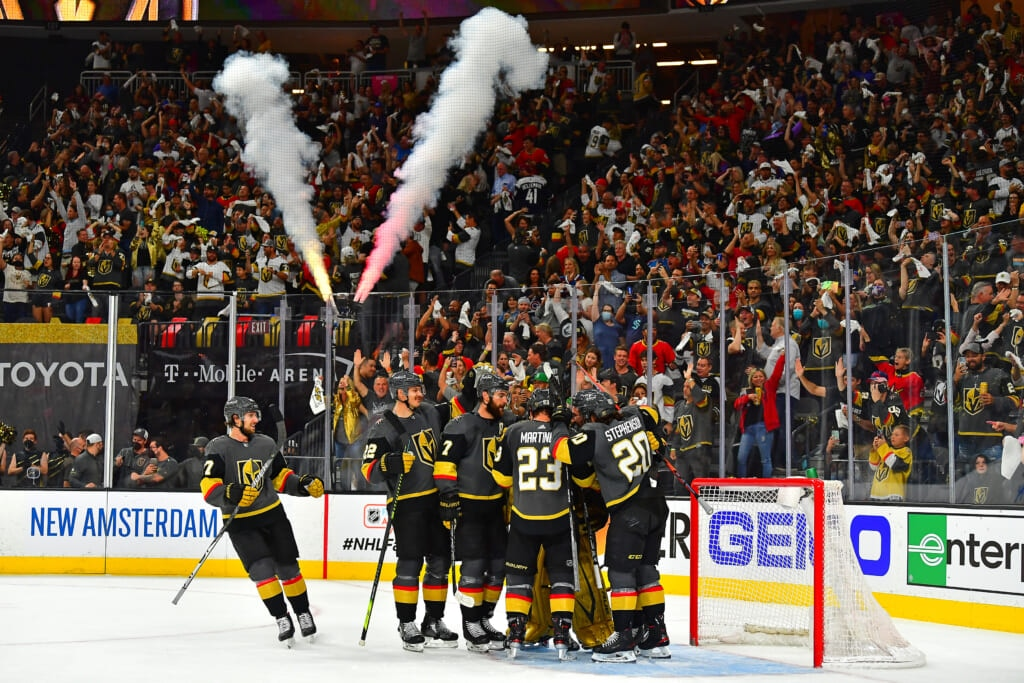 golden knights avalanche