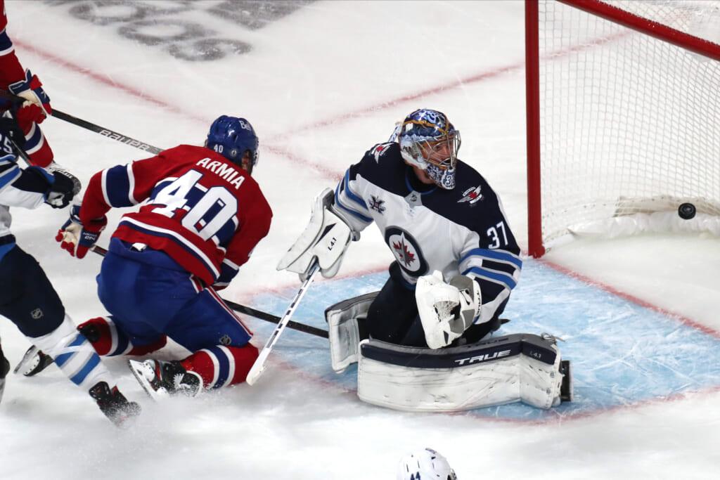 Canadiens dominate Jets