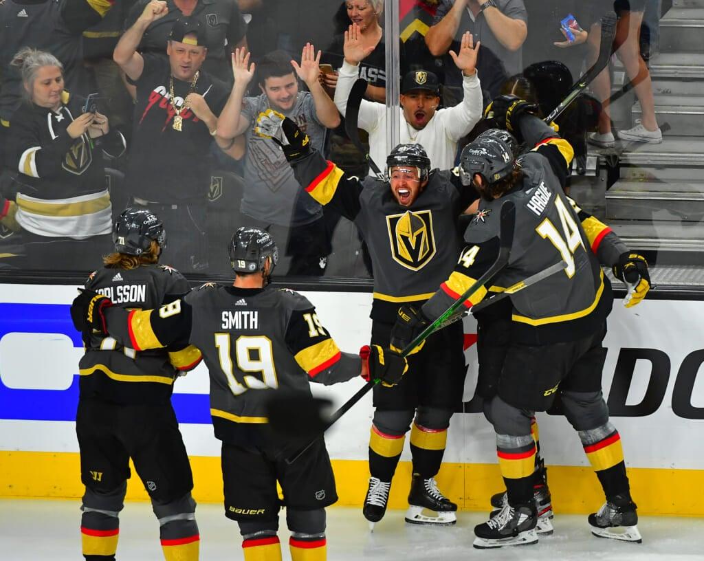 golden knights avs playoffs