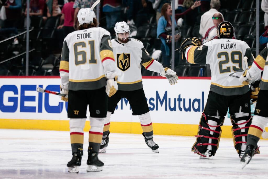 golden knights avalanche playoffs