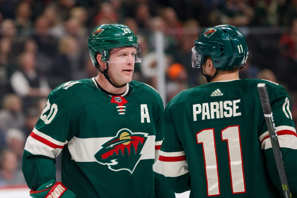 Ryan Suter hung up on Guerin