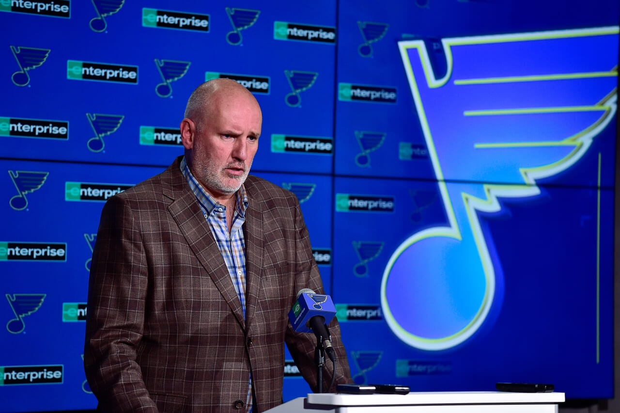 Blues extend Doug Armstrong