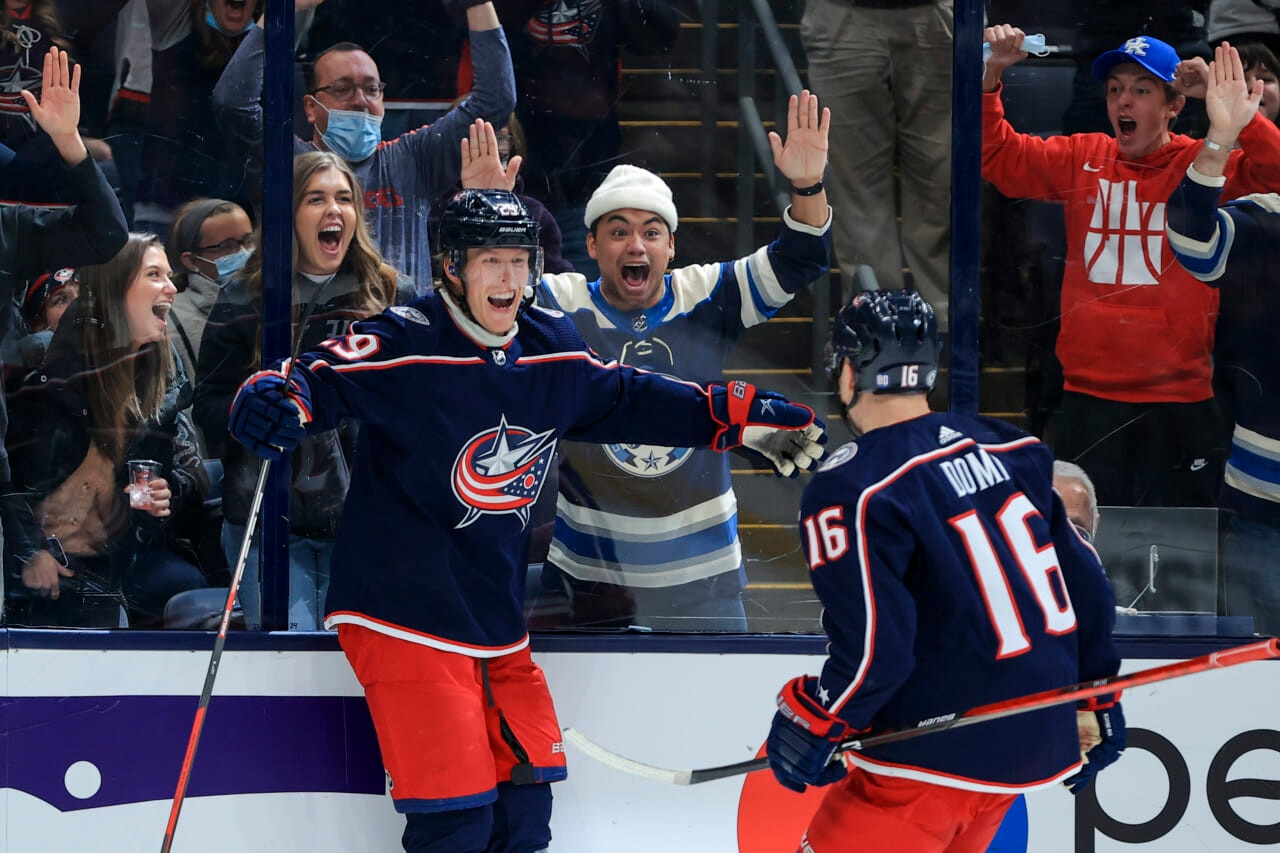 Blue Jackets' Max Domi out with fractured ribs; expected to miss 2-4 weeks
